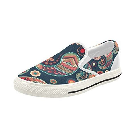 Slip On Bohemian Style Sport Shoes outlet s bohemian hippie slip on canvas fashion sneakers shoes 6g9ukq3om