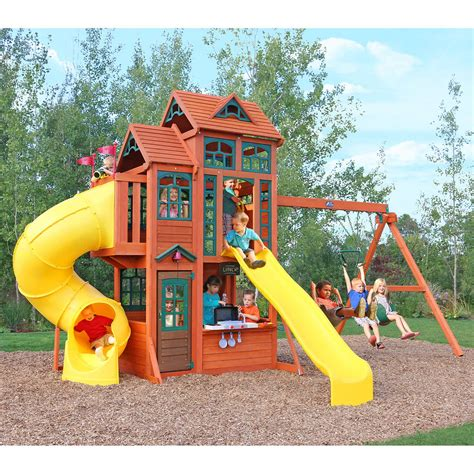 costco wooden swing sets costco kids playset kids matttroy