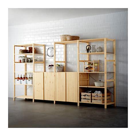 ivar 4 sections shelves ikea ivar 4 sections shelves pine 344x50x179 cm ikea