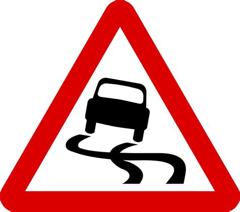 file singapore road signs warning sign slippery road