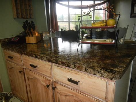 Imitation Granite Countertop by Dittodecorating Faux Granite Countertops