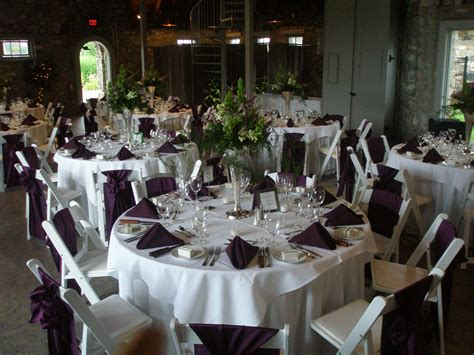 silver wedding table pics for gt eggplant and silver wedding reception