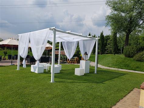 coperture gazebo in legno coperture decorative e ombrelloni gazebo in legno bianco
