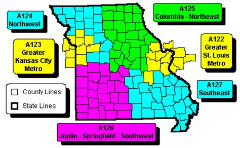 zip code map missouri missouri state regional zip code wall maps swiftmaps com