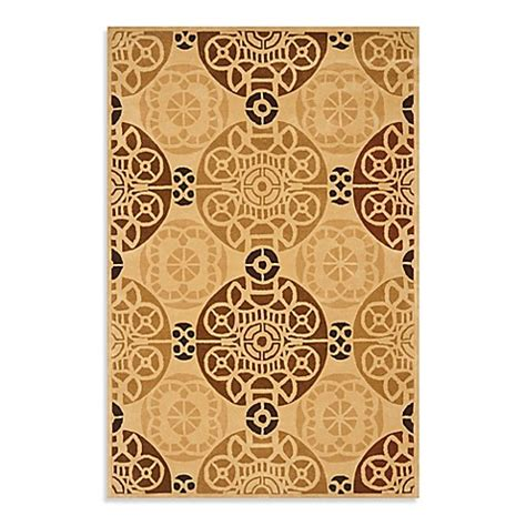 1 foot by 3 foot rug buy safavieh 3 foot x 5 foot rug in gold from bed