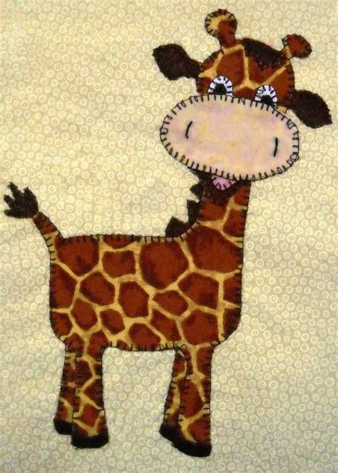 Giraffe Applique by Giraffes Baby Giraffes And Appliques On