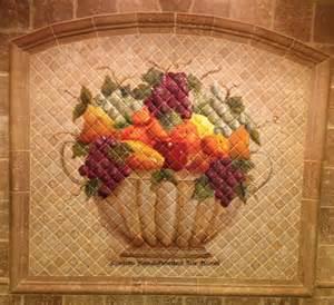 Ceramic Tile Murals For Kitchen Backsplash murals debbie viola
