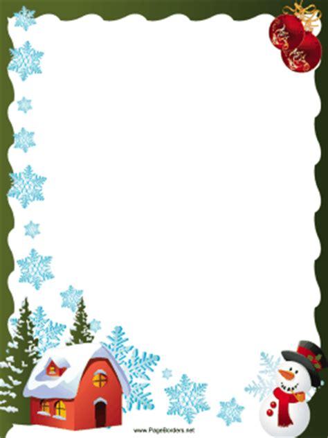 printable christmas borders for word this free festive printable christmas border is