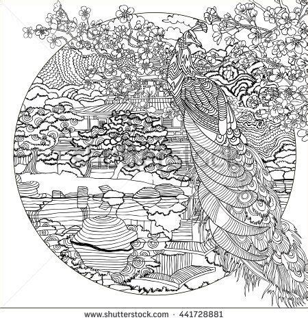 detailed landscape coloring pages for adults detailed landscape coloring pages for adults part 6