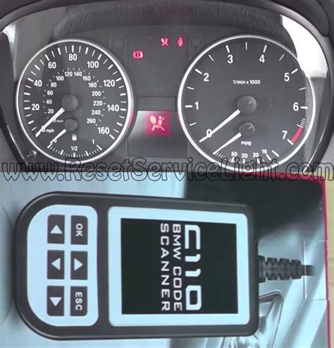 reset service light bmw reset airbag l bmw e92 coupe reset service light