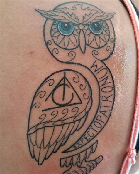harry potter owl tattoo best 25 owl design ideas on owl sketch