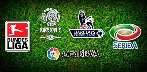 Calendario De Todas Las Ligas De Futbol Previo Futbol Europeo