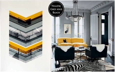 gray and yellow color schemes yellow and grey colour scheme decoration house