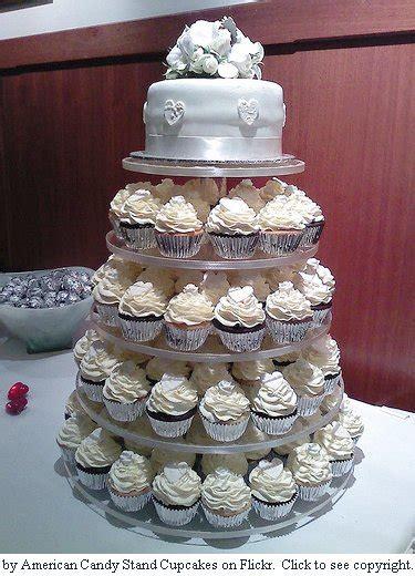 Wedding Cake And Cupcake Ideas by Cupcake Wedding Cake