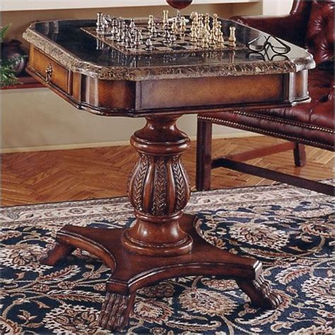 chess table set up antique chess chess board
