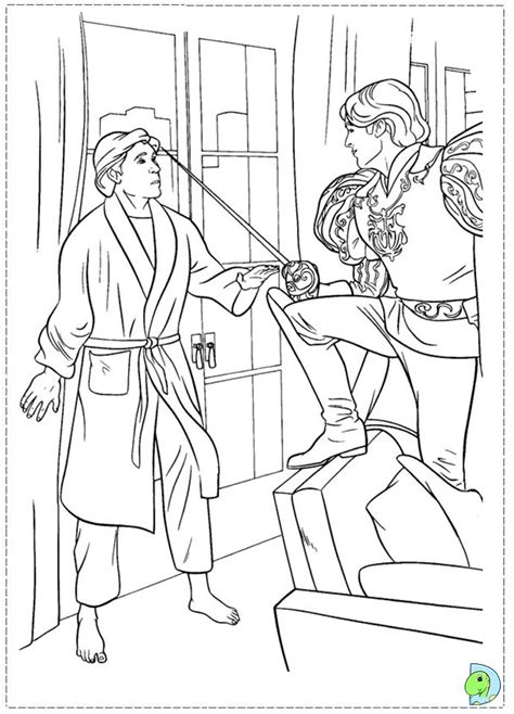 enchanted princess coloring pages free coloring pages of gisselle