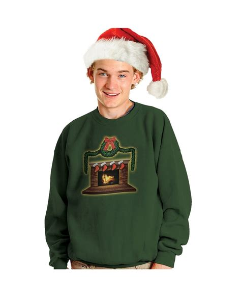 fireplace sweater crackling fireplace sweater