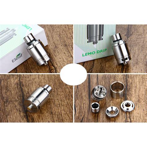 Eleaf Lemo Drip Rda 23 Atomizer Authentic atomizzatore eleaf lemo drip rda stainless
