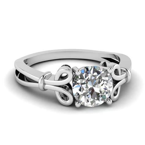 unique solitaire engagement ring fascinating diamonds