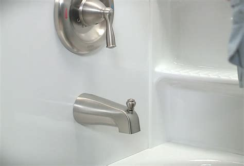install bathtub faucet how to install a tub spout at the home depot