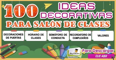 ideas para decorar un salon de clase de espanol 100 ideas decorativas para sal 243 n de clases blog educativo
