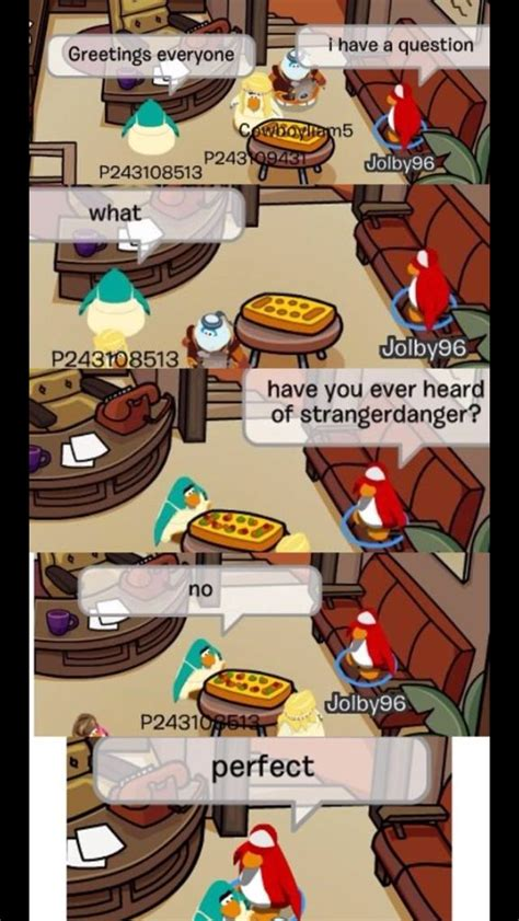 Club Penguin Memes - club penguin ban well this is fun pinterest penguins