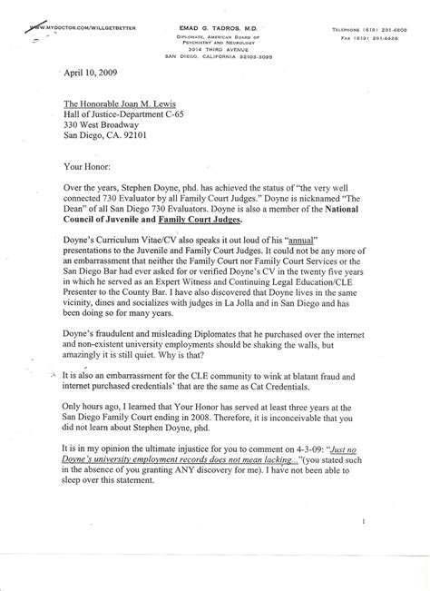 Apology Letter Court Sle Stephen Doyne Files Angiemedia