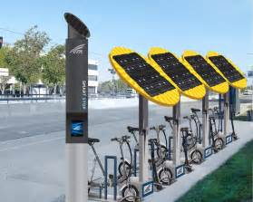 Electric Vehicle Charging Stations Solar Swiftmile Solar Powered Electric Bike Rental Stations