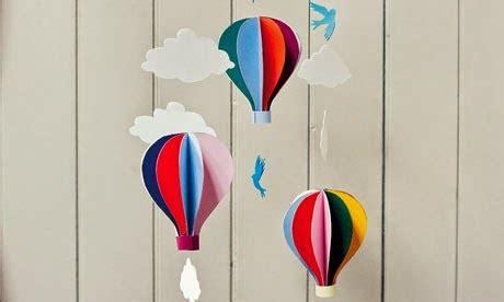 membuat kerajinan untuk paud kerajinan tangan membuat balon udara ragam kerajinan tangan