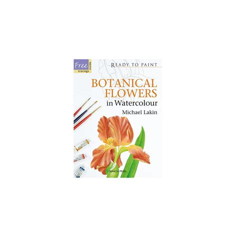 beginner s guide to botanical flower painting books ready to paint botanical flowers in watercolour search