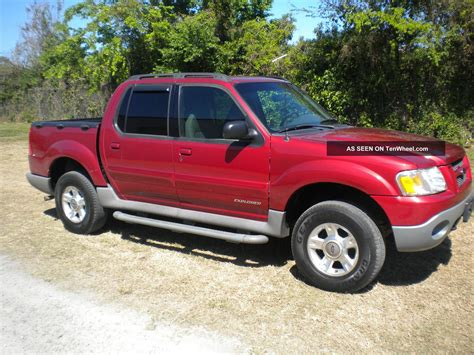 2001 ford sport trac 2001 ford explorer sport trac information and photos