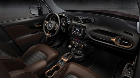 jeep renegade interior colors jeep renegade zi you xia concept is a rebellious small suv