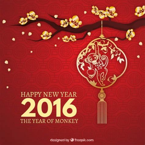 new year the year of the monkey new year vectors photos and psd files free