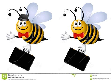 bee business bee busy business bee stock illustration illustration of