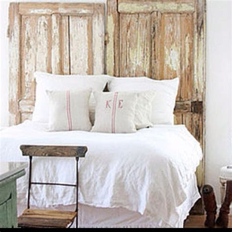 headboard from old door old wooden door headboard antique decor