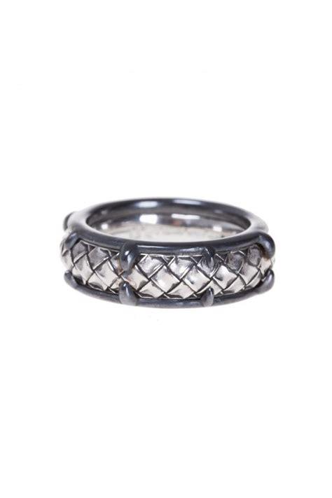 Botega Silver silver ring bottega veneta vitkac shop