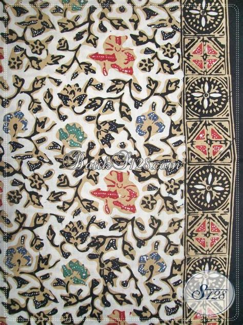 Mukena Batik Colet Pekalongan bahan batik motif bunga untuk fashion batik cap tulis