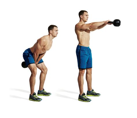 kettlebell power swing the best total single kettlebell workout