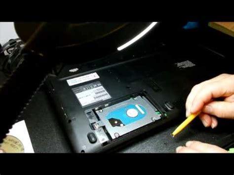 Harddisk Toshiba Satellite L740 replacing the drive on a toshiba satellite c655
