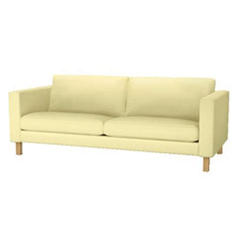 yellow sofa cover ikea karlstad loveseat sofa slipcover cover sivik light