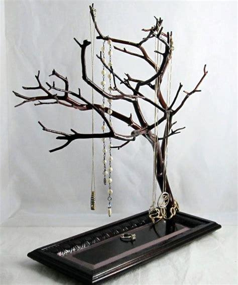 how to make a jewelry tree manzanita jewelry tree stand by manzalisa on etsy 69 00