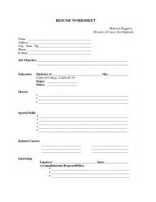 Free Resume Builder And Print Free Resume Fill In The Blanks Free Resume Templates
