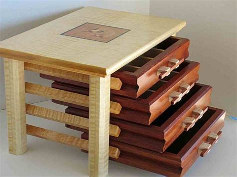 jewelry box woodworking project picture photo gallery