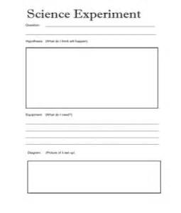 Template For Science Experiment by Science Experiment Template 2011