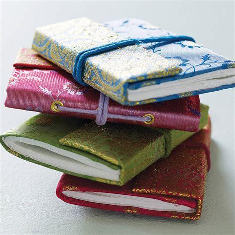 Notebook Handmade - handmade sari notebook by paper high notonthehighstreet