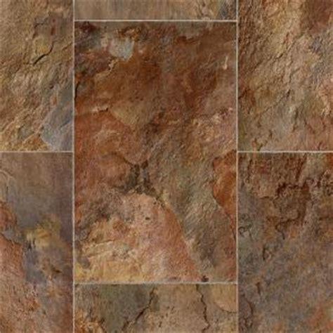 TrafficMASTER Rustic Rectangular Slate Clay 12 ft. Wide x