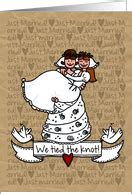 Wedding Announcement Greeting Cards