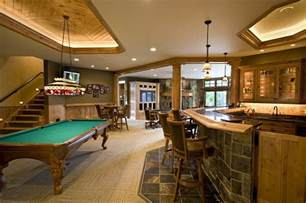 Game Room Flooring Ideas - rec room design ideas for some fancy time at home