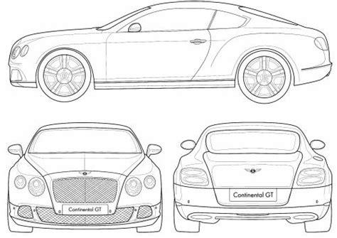 bentley continental dimensions the blueprints blueprints gt cars gt bentley gt bentley