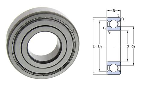 Bearing 16032 C3 6004 2z skf skf groove bearings bearing king